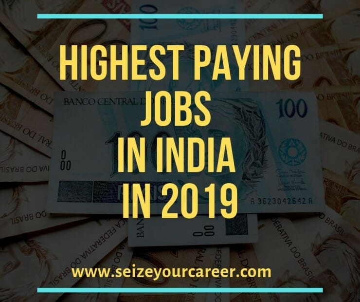 Highest Paying Jobs in India in 2019 - Seize Your Career
